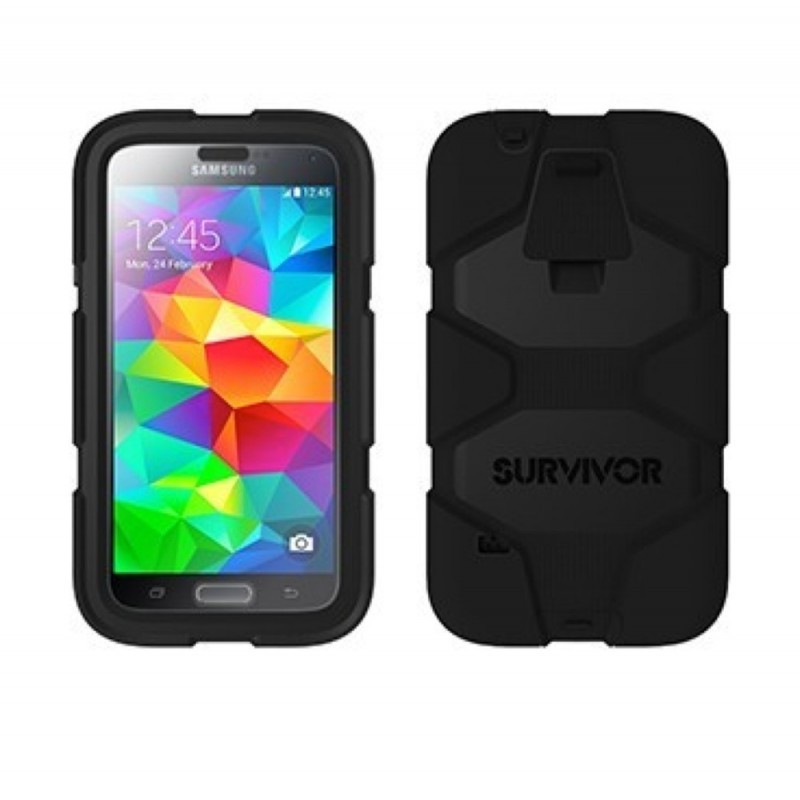 Griffin Survivor All-Terrain Étui Hardcase Galaxy S5 noir