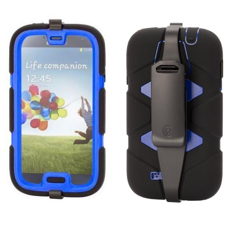 Griffin Survivor Samsung Galaxy S4 Noir/bleu
