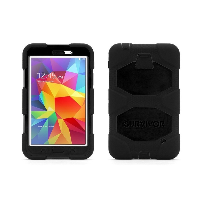 Griffin Survivor All-Terrain Étui Hardcase Galaxy Tab 4 7.0 noir