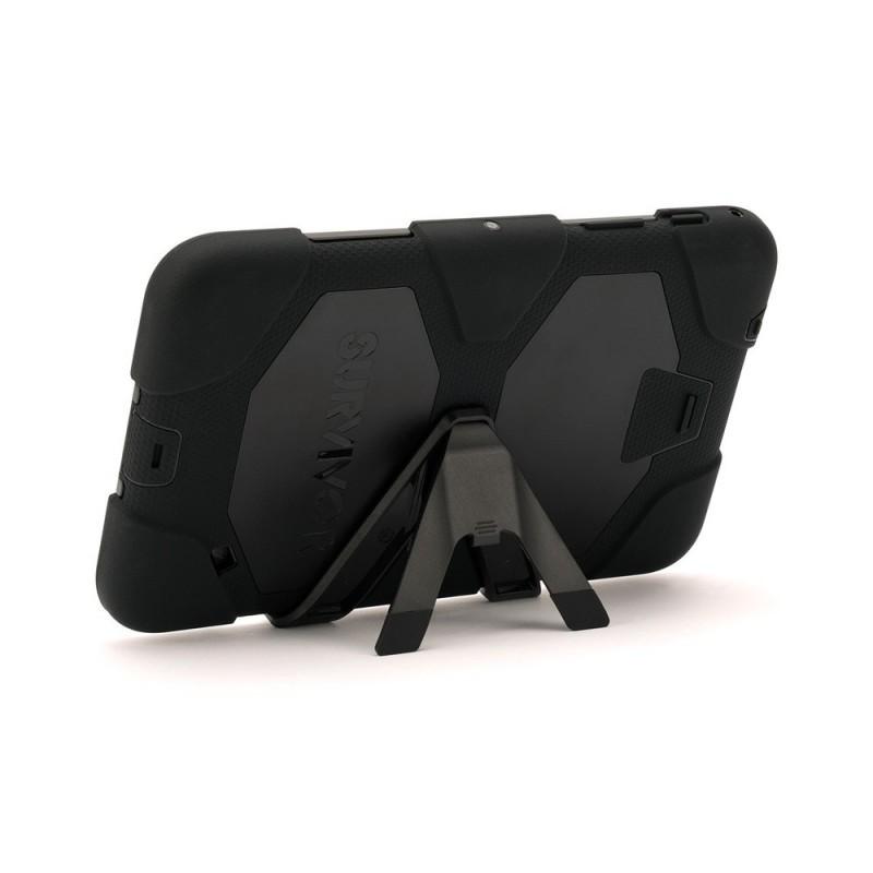 Griffin Survivor All-Terrain Étui Hardcase Galaxy Tab 4 8.0 noir