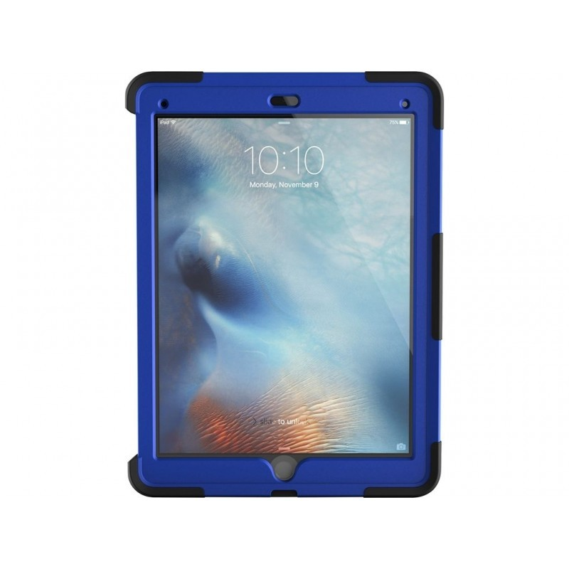 Griffin Survivor Slim - Coque iPad Pro 12,9 - Bleu / Noir