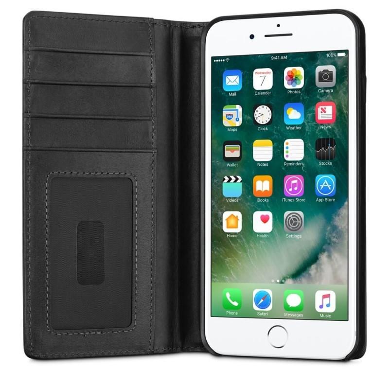 Twelve South Journal Portefeuille iPhone 7 / 8 Plus Noir