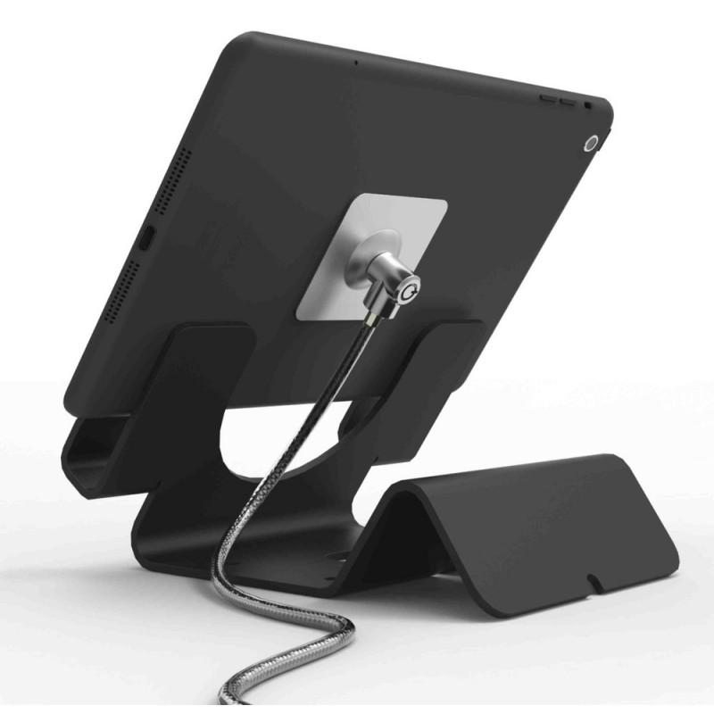 Maclocks support sécurisé avec câble de 1,8m Noir