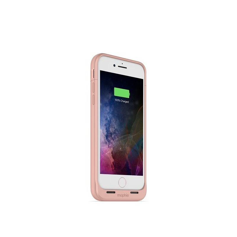 Mophie Coque Batterie Juice Pack Air iPhone 7 / 8 / SE 2020 rose or