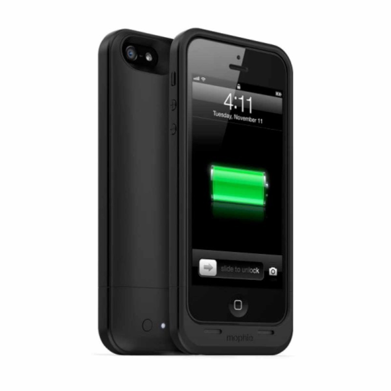 Mophie Juice Pack Air - Coque batterie intégrée iPhone 5(S) / SE - Noir