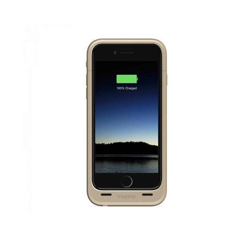 Mophie juice pack plus - Coque batterie intégrée iPhone 6(S) 3300 mAh - Doré