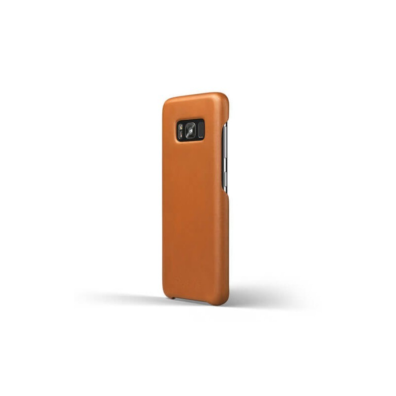 Mujjo Coque en cuir - Samsung Galaxy S8 - Marron