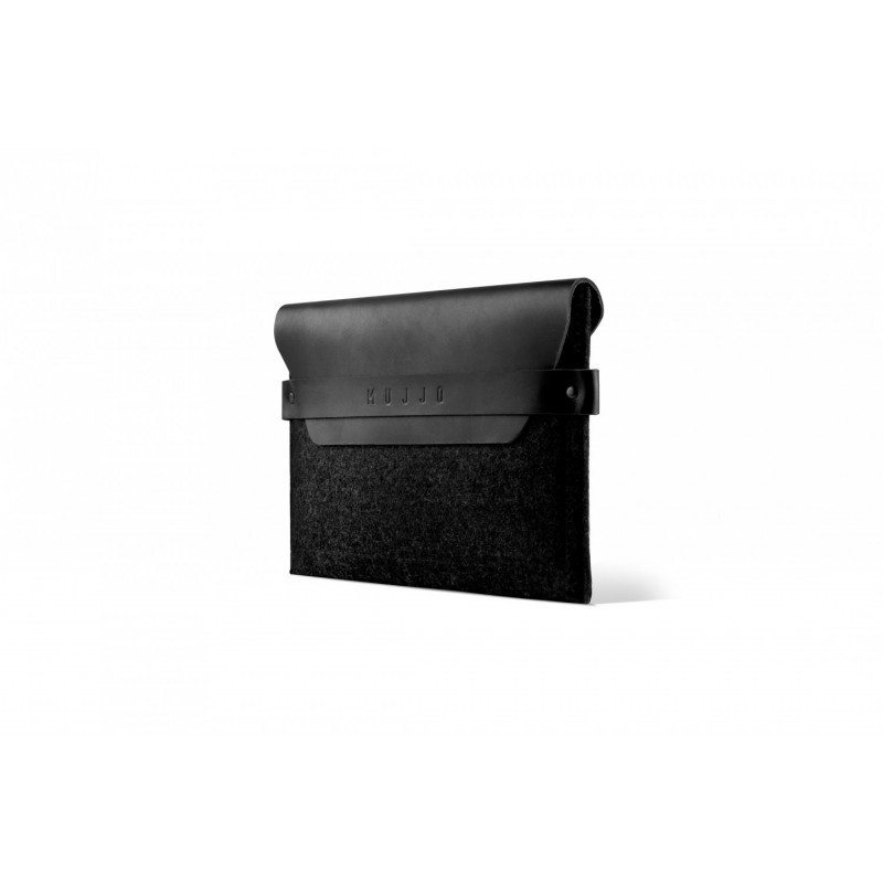 Mujjo Envelope - Pochette / Étui iPad mini 1 / 2 / 3 / 4 / 5 En Cuir - Noir