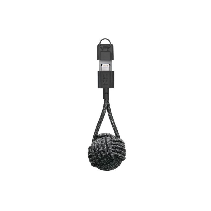 Native Union Kevlar Key Lightning - Câble de charge - Noir