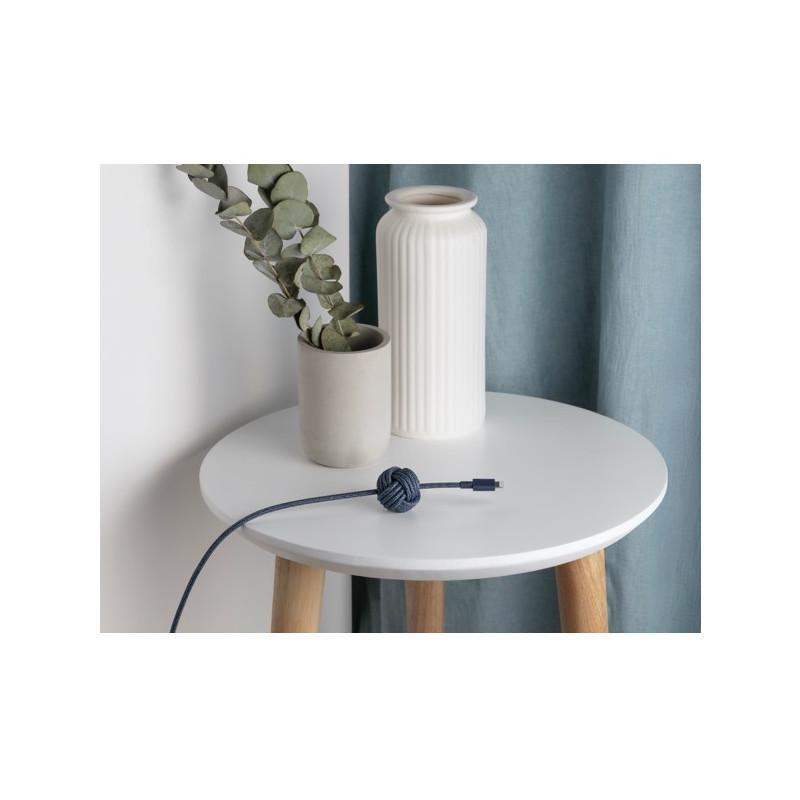 Native Union Kevlar Night Lightning - Câble de charge 3m - Bleu