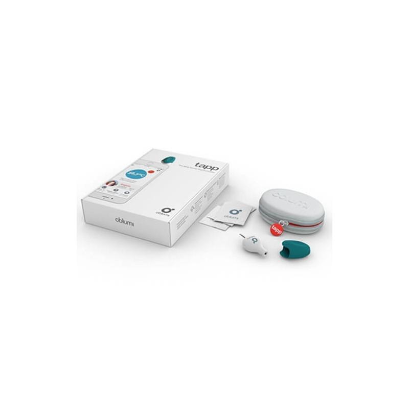 Oblumi Tapp Thermomètre digital infrarouge Bleu / Blanc