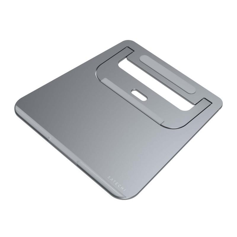 Satechi Support portatif pour ordinateur portable - Gris - Aluminium