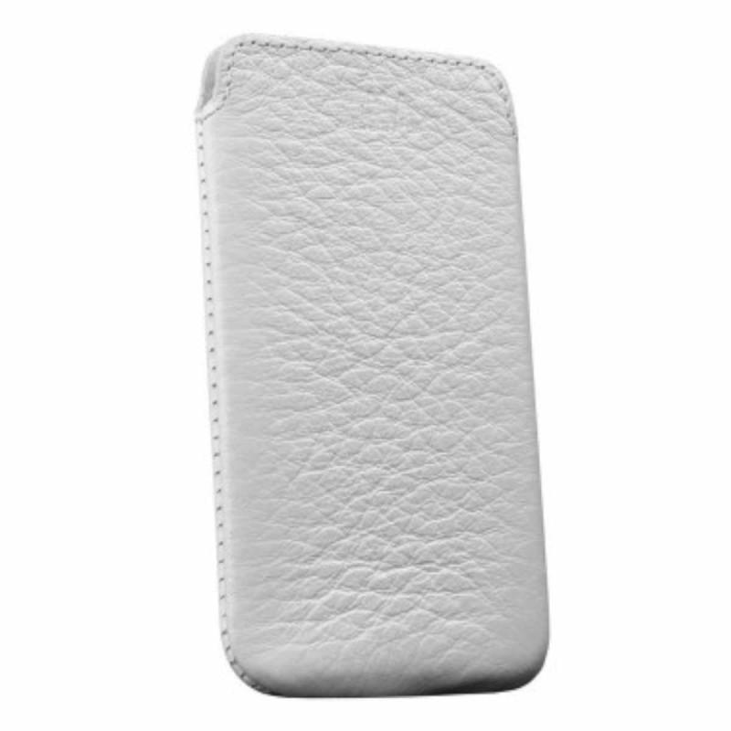 Sena Pochette Ultra Fine en cuir pour iPhone 4(S) blanche