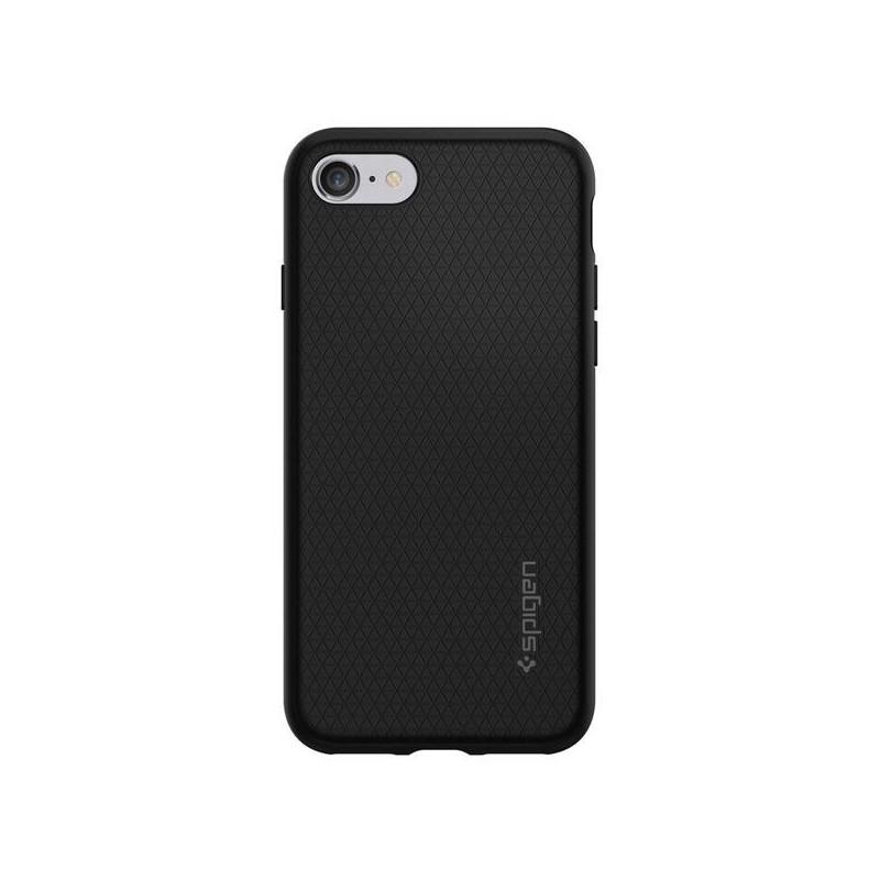 Spigen Liquid Armor Coque iPhone 7 / 8 / SE 2020 noir