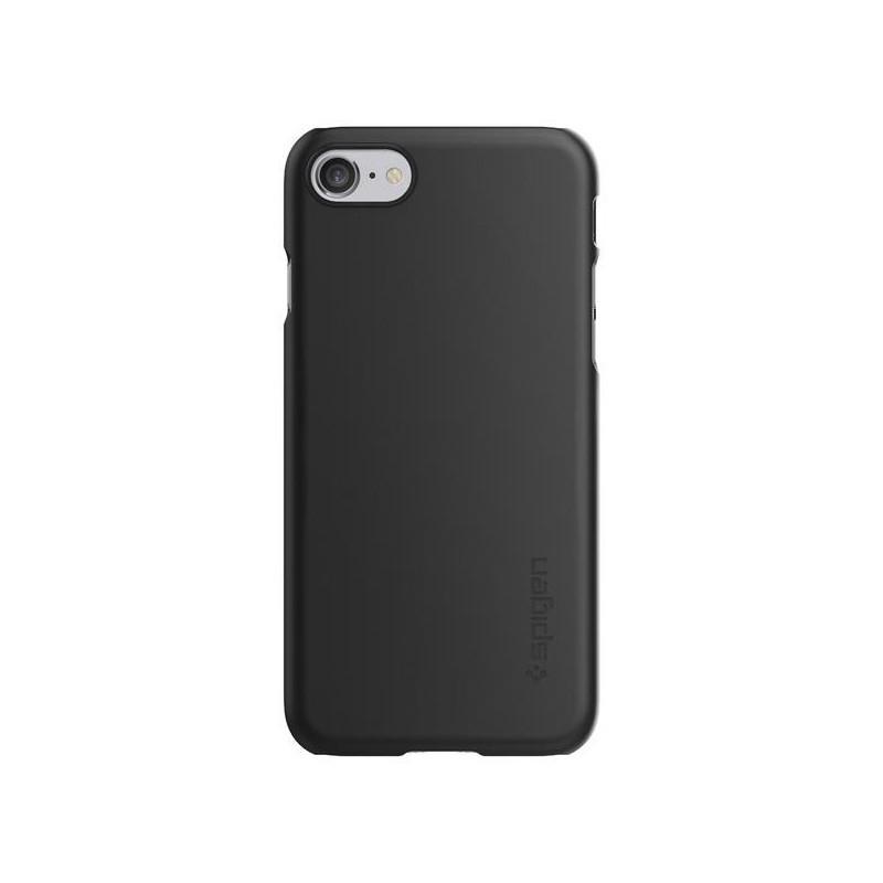 Spigen Thin Fit Coque Ultra fine iPhone 7 / 8 / SE 2020 noire