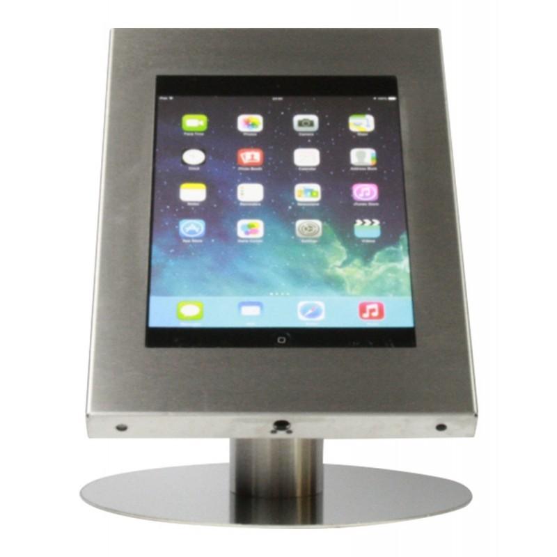 Socle pour iPad et Galaxy Tab - Acier Inoxydable
