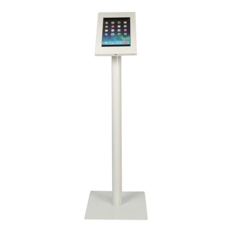 Borne Tablette sur pied Securo- iPad Galaxy Tab - Blanc