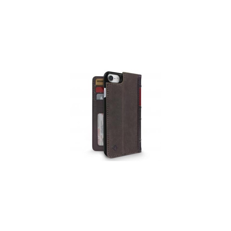 Twelve South BookBook étui iPhone 7 / 8 / SE 2020 marron