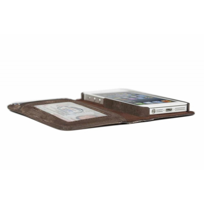 Twelve South BookBook étui iPhone 5(S)/SE marron