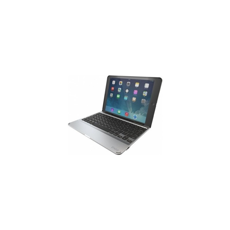 ZAGG Keys Slim Book Keyboard AZERTY Case iPad Pro 12,9 zwart
