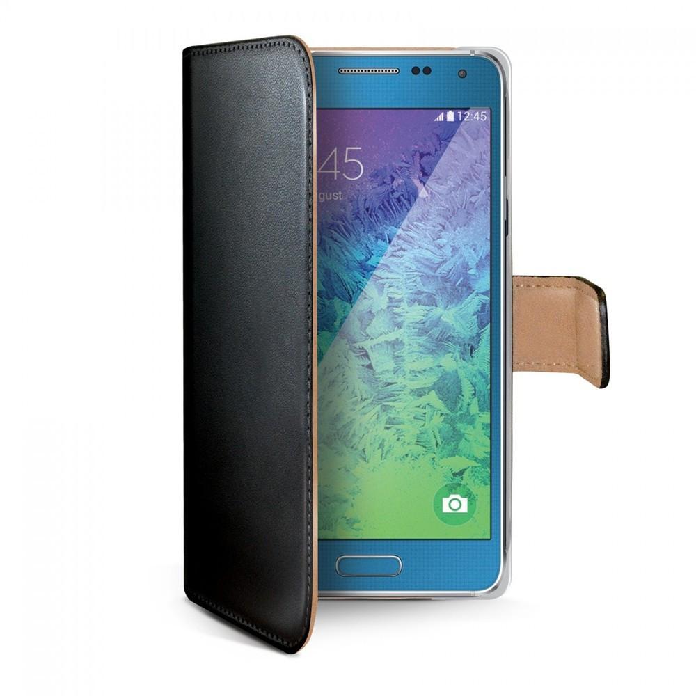Celly Wally Folio Case Galaxy A7 Black