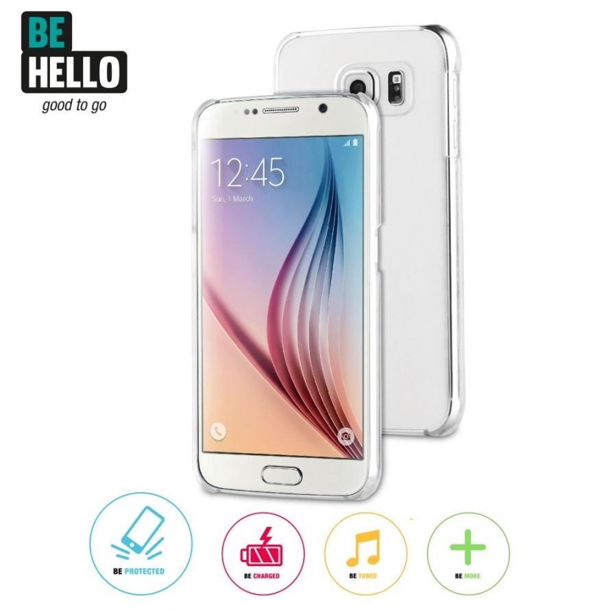 Be Hello Back Case Galaxy S6 Clear