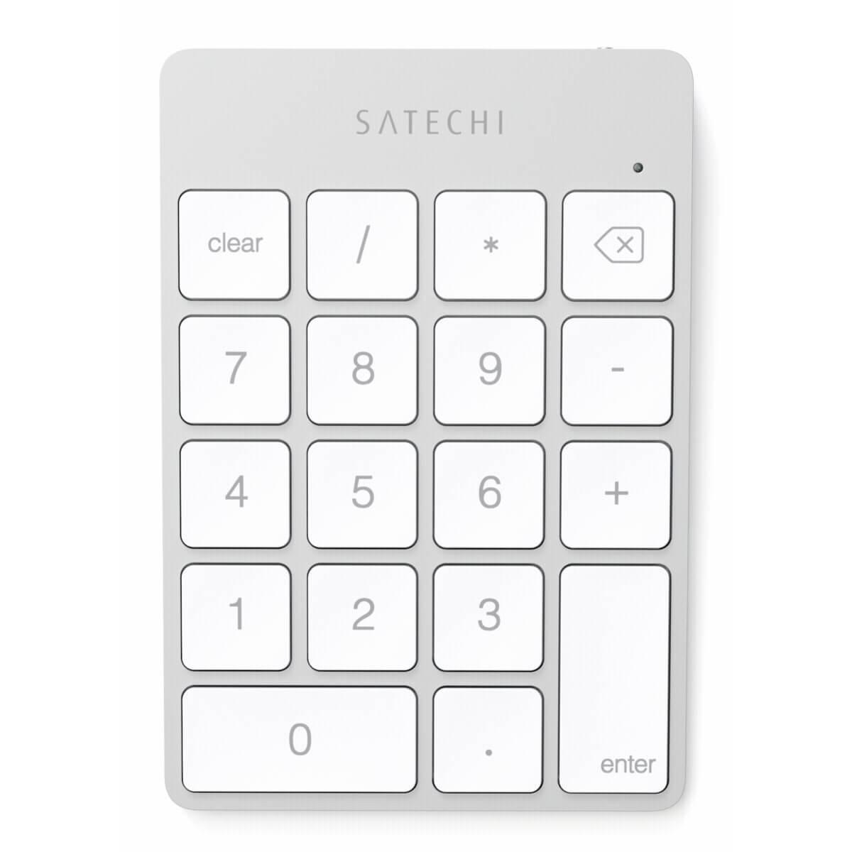 Satechi Clavier Numérique Sans Fil Bluetooth - Argent