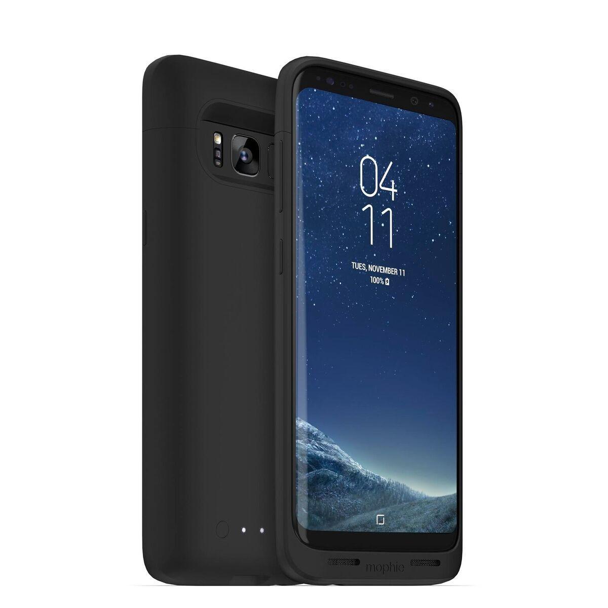 Mophie Coque Batterie Juice Pack Wireless Samsung Galaxy S8 noir