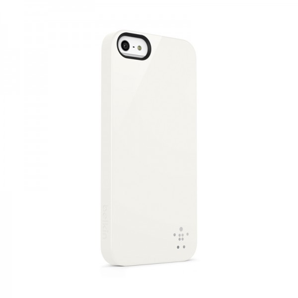 Belkin Shield - Coque Antichoc iPhone 5(S) / SE - Blanche