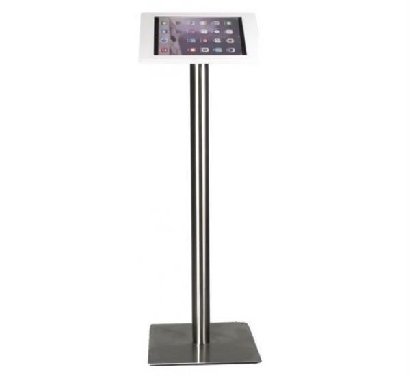 Support pour tablette Fino iPad 9,7 pouces - Acier & Blanc