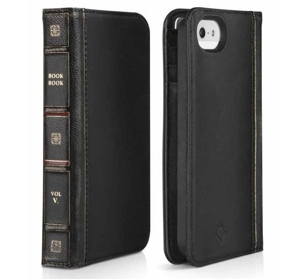Twelve South BookBook étui iPhone 5(S)/SE noir