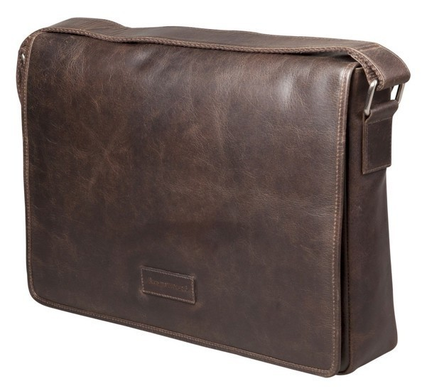 dbramante1928 Marselisborg 14 inch Messenger Bag Hunter Foncé