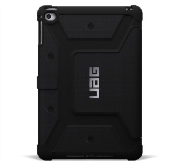 UAG Coque Antichoc Folio Scout iPad Mini 4 Noire
