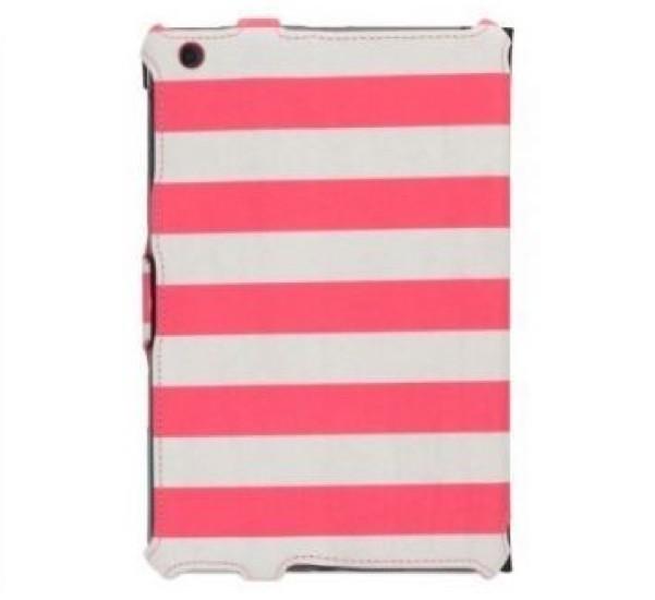 Griffin Journal Booklet étui iPad Mini Rose/Blanc