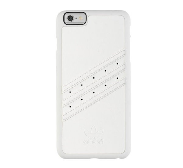 Adidas Basics Premium - iPhone 6 Plus / 6S Plus -  Coque Moulée Blanche