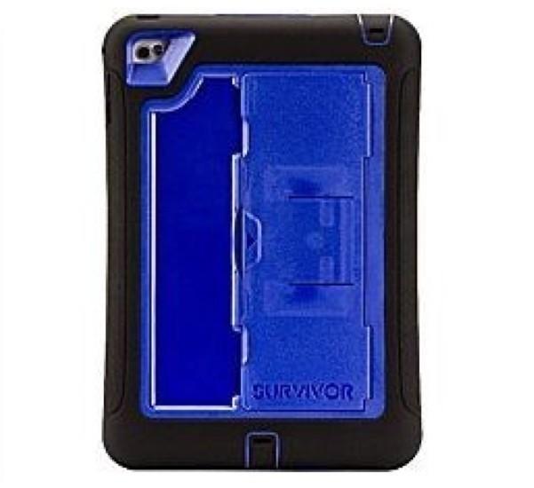 Griffin Survivor Slim iPad Mini 4 bleu/noir