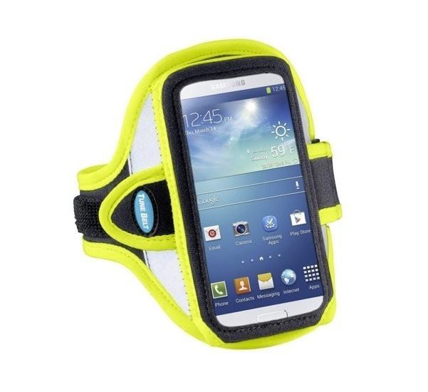 Tune Belt - Brassard Running iPhone 6(S) / 7 / 8 / SE 2020 Jaune