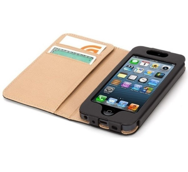 Griffin Midtown booklet étui portefeuille iPhone 5(S)/SE/C noir