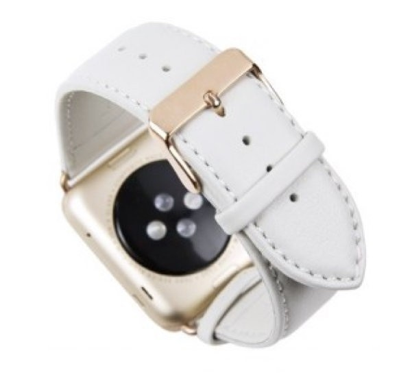 Dbramante1928 Copenhagen Sangle Apple Watch 42mm blanc