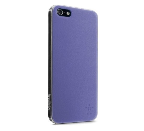 Belkin View Coque pour iPhone 5 / 5S / SE violet