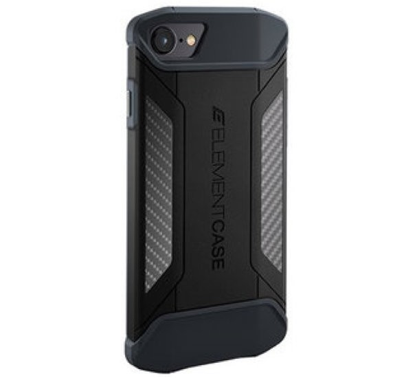 Element Case CFX iPhone 7 / 8 / SE 2020 Noire