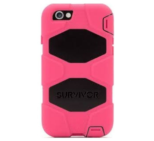 Griffin Survivor All-Terrain Étui Phone 6(S) Plus noir/rosé