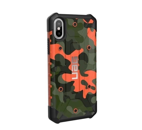 UAG Coque Antichoc Pathfinder iPhone X / XS camouflage orange