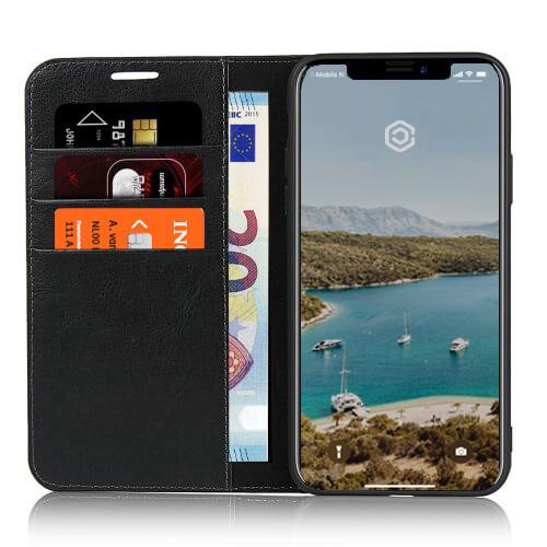 Casecentive Étui Portefeuille iPhone 11 Pro Max Noir