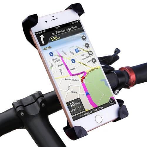 Casecentive Support de téléphone universel pour vélo