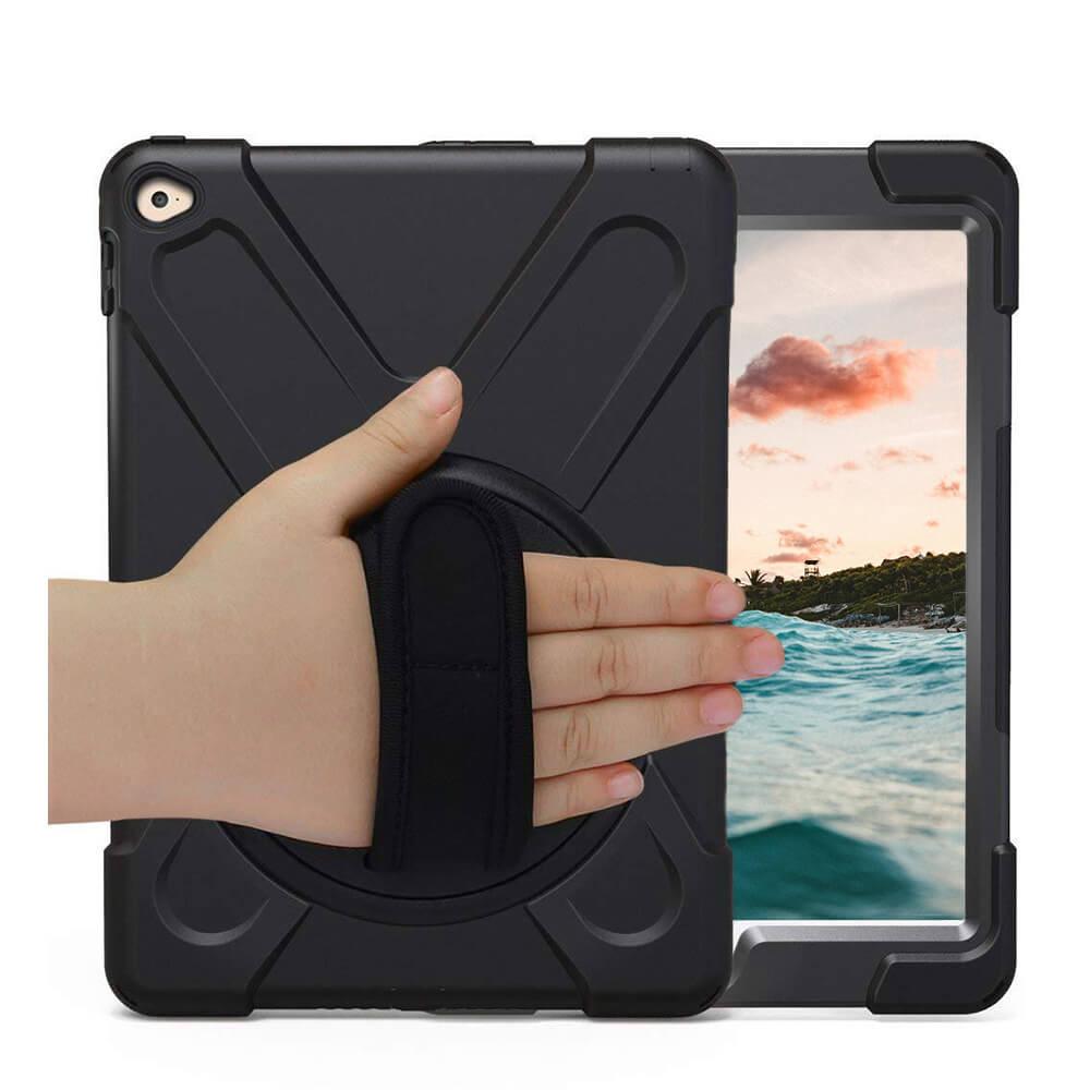 """Casecentive Handstrap - Coque Antichoc - iPad Pro 12,9"""" noir"""