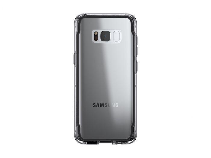 Griffin Survivor Clear étui Galaxy S8 gris foncé
