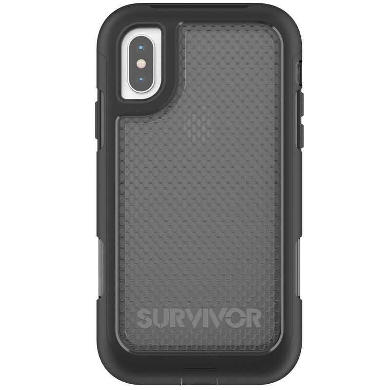 griffin survivor extreme iphone x black smoke 02
