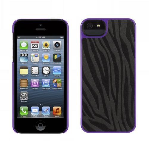 Griffin Moxy Form iPhone 5(S)/SE Zèbre Noir/Violet
