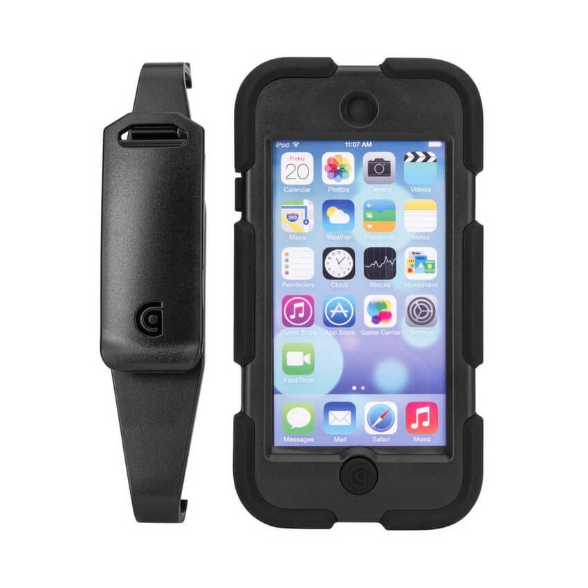 griffin survivor all terrain for ipod touch black scr 1 1